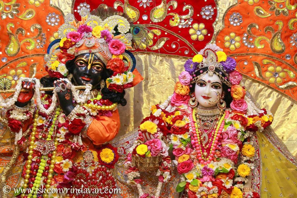 ISKCON Vrindavan Sringar Deity Darshan 12 Mar 2016 (8)
