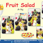 Fruit Salad Activity by Jr. kg Section (2018-19), Witty World, Goregaon East
