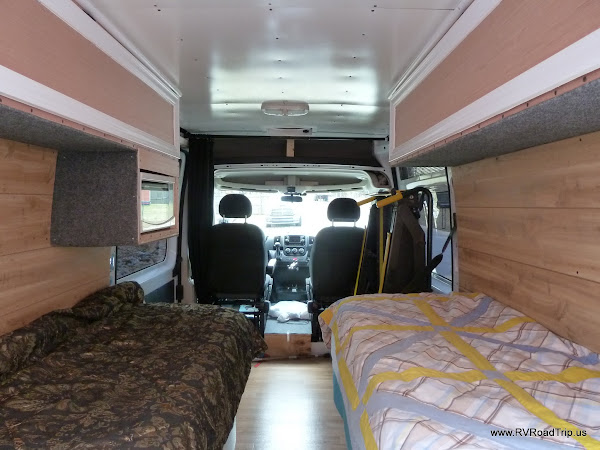 Campervan Conversion Wall Covering