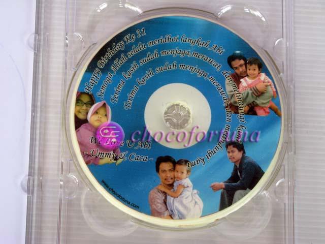 Coklat Edible CD DVD_Edisi Ulang Tahun