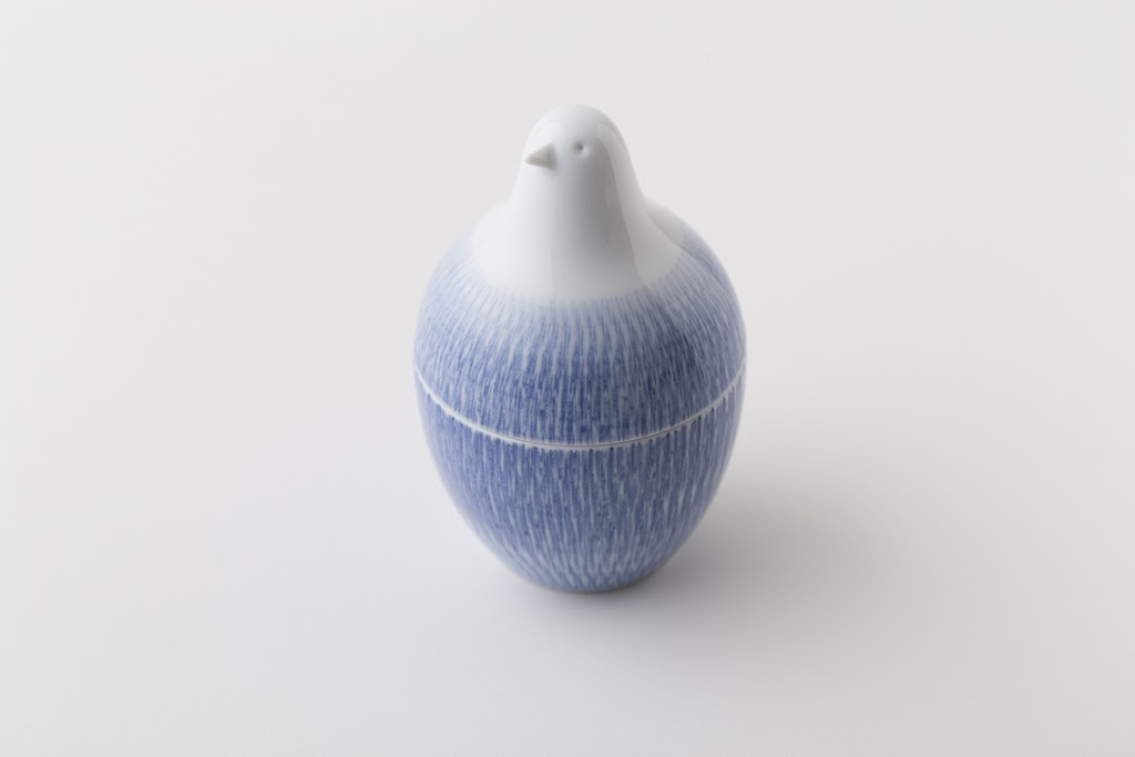 Piccolo Toothpick Holder Blue