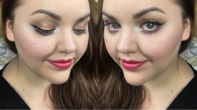 selfie using only poundland makeup