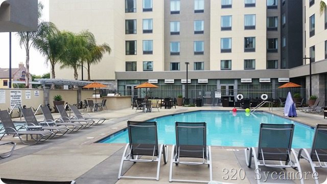 homewood suites anaheim pool