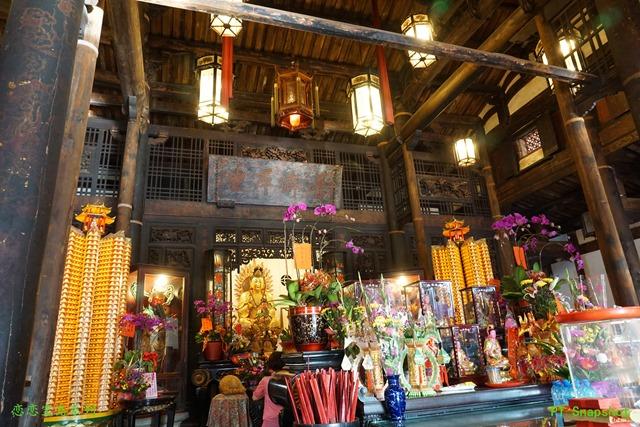 龙山寺的木材之最