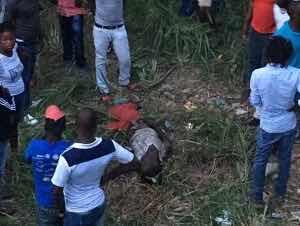 Accidente deja varios haitianos y dominicanos heridos de gravedad en comunidad de Doña Antonia