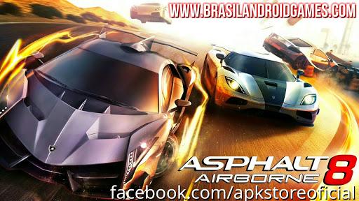 Download Asphalt 8: Airborne v3.5.1b APK MOD DINHEIRO INFINITO DATA - Jogos Android