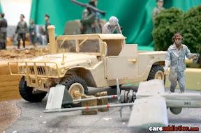 War Hummer Diorama