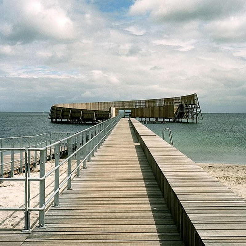 Kastrup Sea Bath: An Outdoor Swimming Pool in The Sea