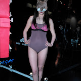 WWW.ENTSIMAGES.COM -   Jina Choi   at    Kriss Soonik Voodoo Valentine's PartyLuxury lingere brand celebrates Valentine's Day -  launches their new collection, with a themed party.Wolf & Badger, Dover Street, London February 6th 2013                                                  Photo Mobis Photos/OIC 0203 174 1069