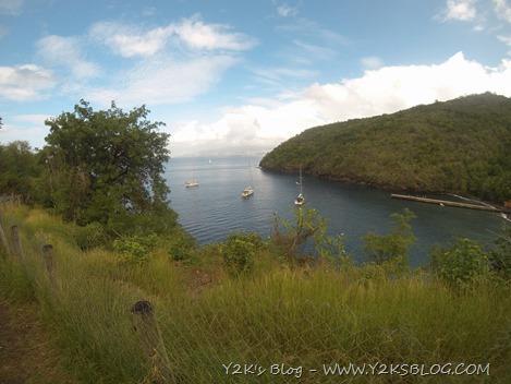 Anse Noire e Y2K dalla costa