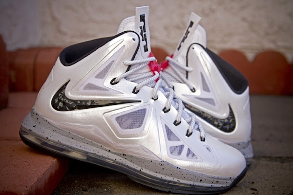 Nike LeBron X iD 8220Cement8221 Designed by gentry187