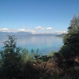 Spettacolo di blu del lago Nahuel Huapi