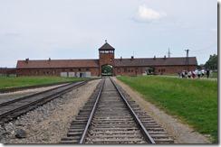 11 Birkenau entrée du camp