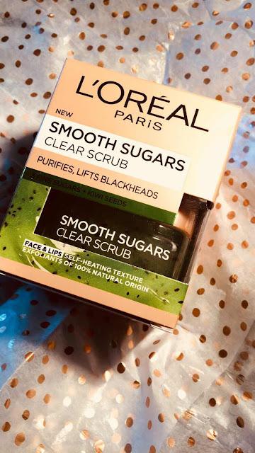 L'oreal Paris Smooth Sugars Clear Scrub