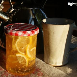 Honey Ginger Lemon Tea Mix