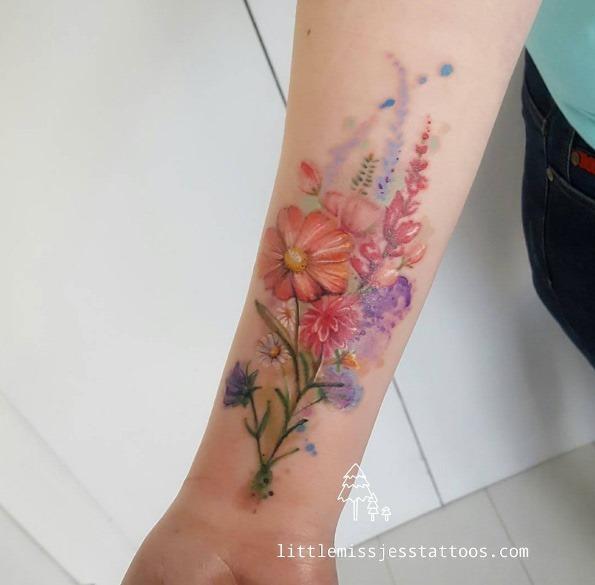 este_colorido_floral_bouquet