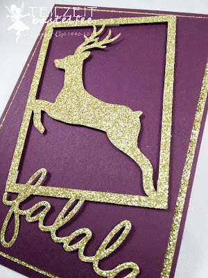 Stampin' Up! - In{k}spire_me #227, Sparkly Seasons, Im Rahmen der Feiertage, Framelits, Christmas, Weihnachten, Project Life Hello December 2015
