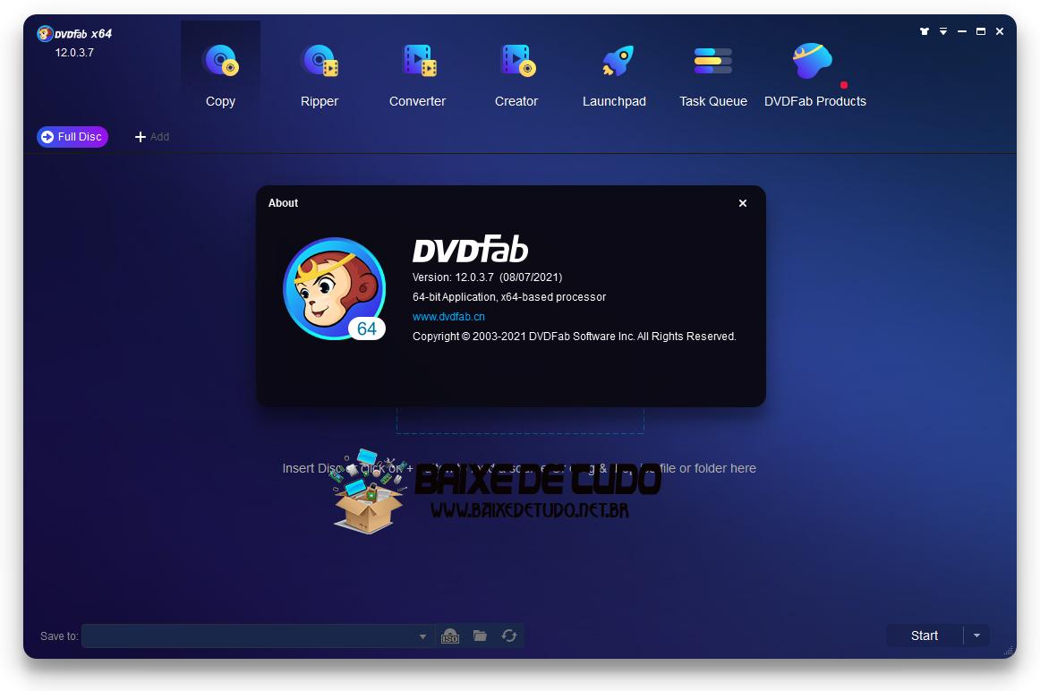 DVDFab v12.0.3.7 + Crack -Baixe de tudo