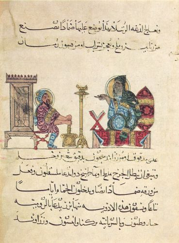 Pharmaceutic Processes In Arabic Manuscript, Alchemical Apparatus