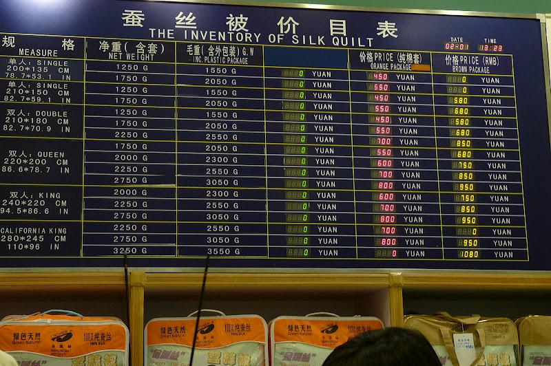 Suzhou.usine de soieries.pas si cher