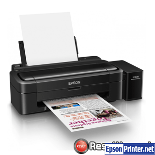 Reset Epson L130 ink pads are at the end of their service life