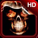 Skulls Live Wallpaper HD icon