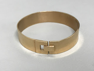 14K Gold Modernist Bracelet 2