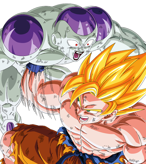 Goku vs Frieza by zman786 Bảy Viên Ngọc Rồng Phần 2