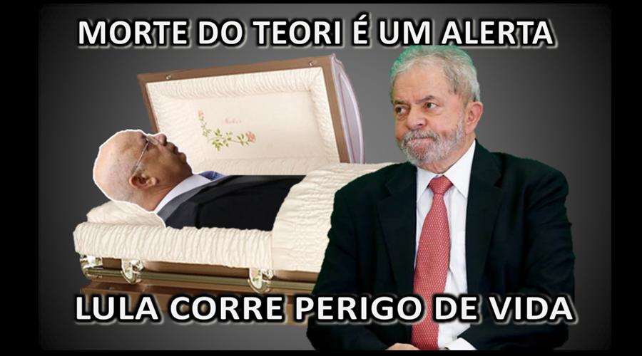 Resultado de imagem para Lula corre risco de morte!