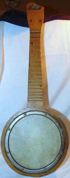Bluebird bracketless Banjolele