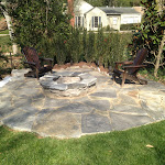 Stone Fire Pit / Patio