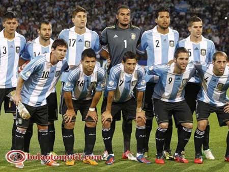 Skuad Tim Tango Timnas Argentina