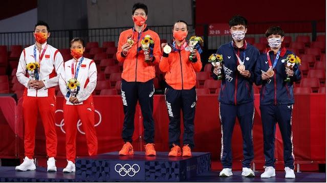Tokyo Olympics- ಟೋಕಿಯೋ ಒಲಿಂಪಿಕ್ಸ್: ಪದಕ ಪಟ್ಟಿಯಲ್ಲಿ ಭಾರತಕ್ಕೆ 60ನೇ ಸ್ಥಾನ