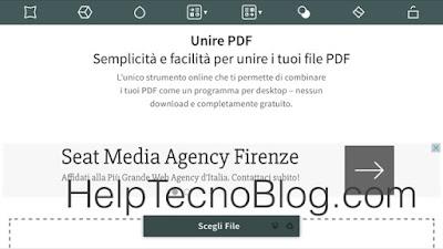 Come unire due documenti pdf gratis help tecno blog - Unire diversi pdf ...