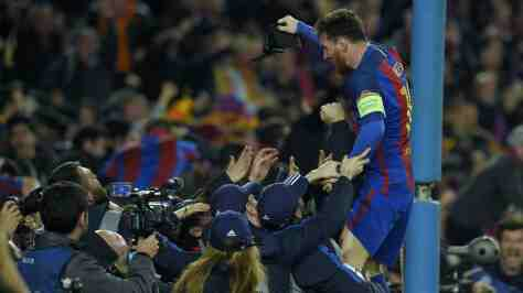 Barcelona vs PSG Champions League Match Highlight