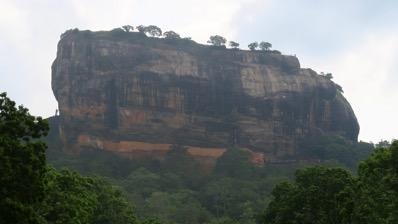 Sigiriyia Close Up