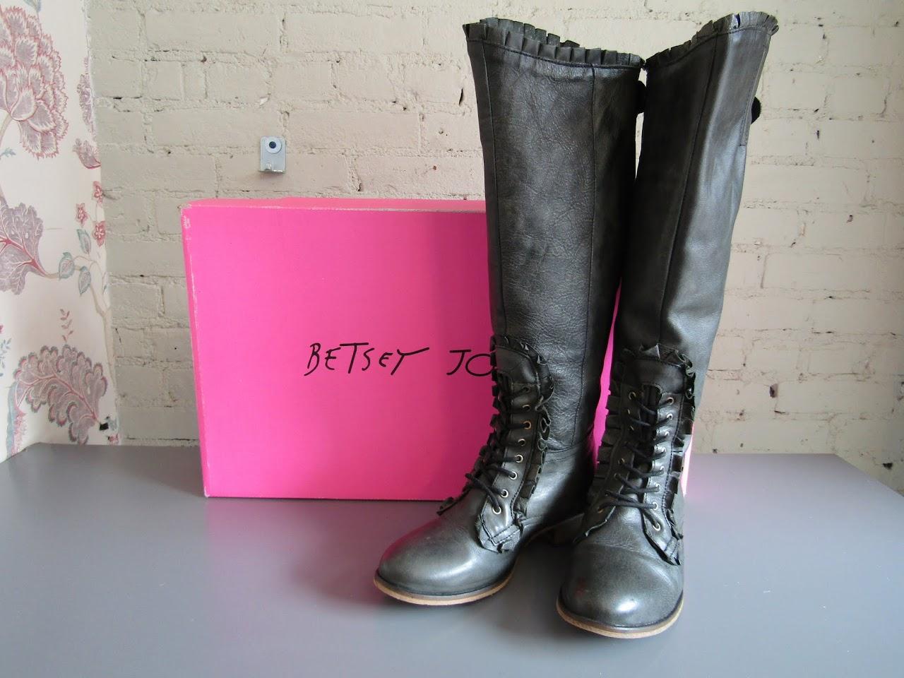 Betsey Johnson 'Rally' Calf Boot