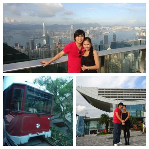 Ed and Lady in Victoria Peak Again