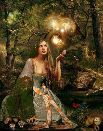 Forest Green Witch, Green Witches