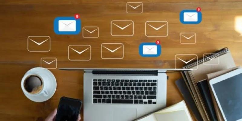 البحث عن جميع حسابات عنوان البريد الإلكتروني المرتبط