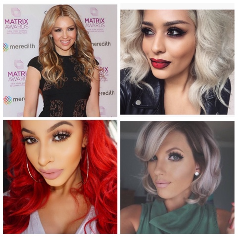 #HairColors que necesitan un toquecito de maquillaje.