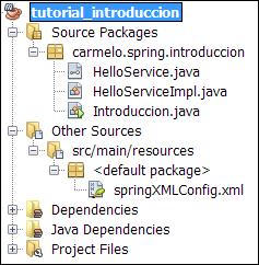 spring configuracion xml