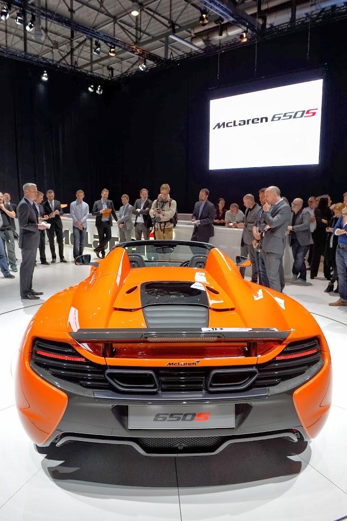 McLaren 650S Spider Geneva Motor Show 25