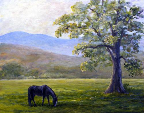 """""""The Good Life"""" by Artist Ken Farris."""