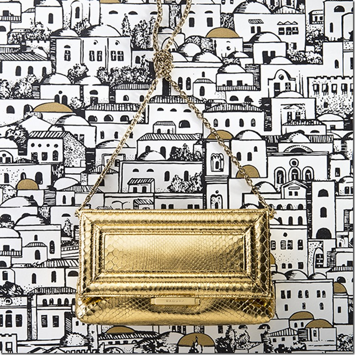 LUISA CLUTCH ORO_CAMPAIGN SS 17