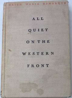 an analysis of the horrors of war in all quiet on the western front by erich maria remarque By erich maria remarque  all quiet on the western front is paul's story, and is  told through a first-person lens  the horrors of the war have not yet sunk in.