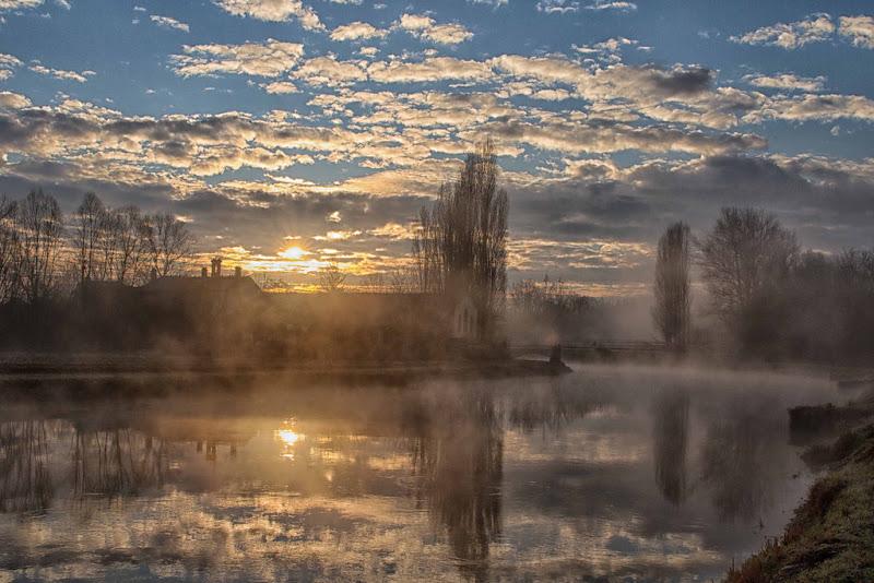 il sole e la nebbia di antonioromei