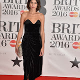 OIC - ENTSIMAGES.COM - Alexa Chung at the  The BRIT Awards 2016 (BRITs) in London 24th February 2016.  Raymond Weil's  Official Watch and  Timing Partner for the BRIT Awards. Photo Mobis Photos/OIC 0203 174 1069