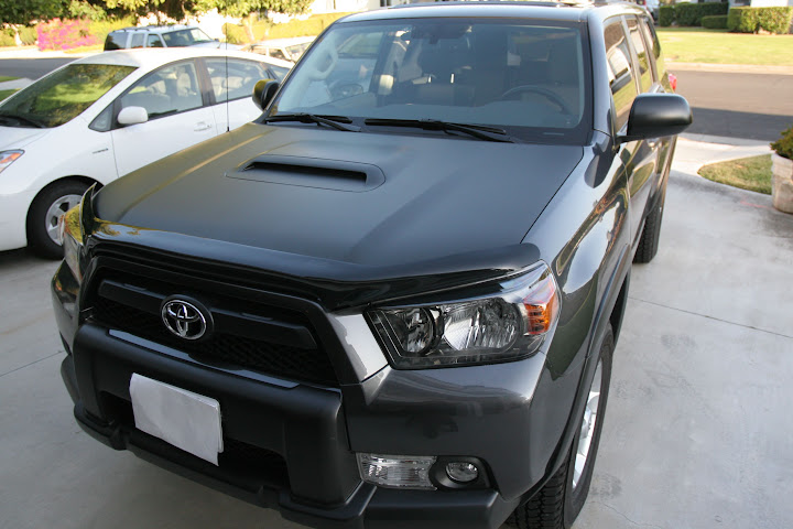 Inspired By Others 3m Matte Black Te Hood Toyota 4runner Forum