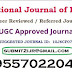 Link to UGC Approved Journal